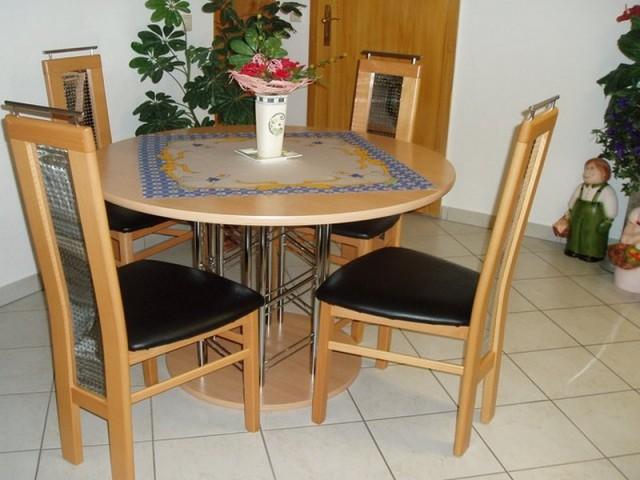 Ferienwohnung Graße in Görlitz - Küche mit Essecke