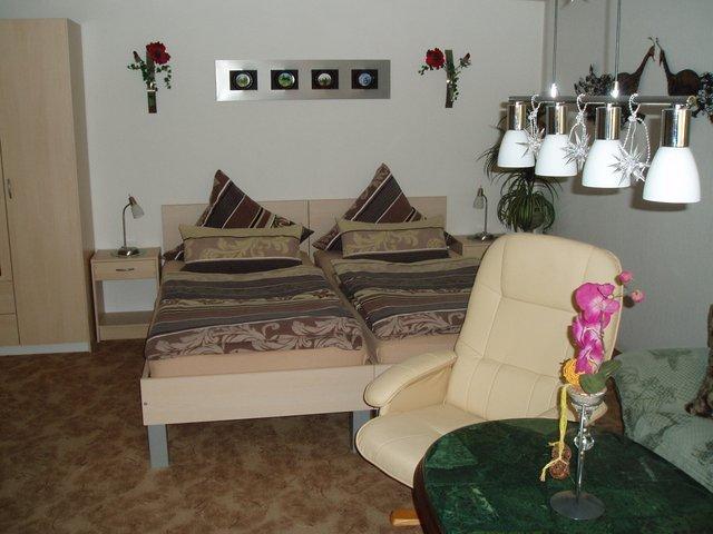 Ferienwohnung Graße in Görlitz - Wohn- und Schlafbereich